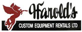 Harold's Custom Equipment